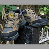 【JHS杰恆社戶外鞋登山鞋】3608卡其牛皮徒步鞋旅遊鞋跑步鞋情侶鞋(FW天翔FLYWALKING)