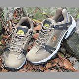 【JHS杰恆社戶外鞋登山鞋】5C卡其牛皮徒步鞋旅遊鞋跑步鞋情侶鞋(FW天翔FLYWALKING)