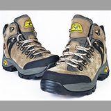 【JHS杰恆社戶外鞋登山鞋】6107卡其牛皮徒步鞋旅遊鞋跑步鞋情侶鞋(FW天翔FLYWALKING)