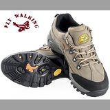 【JHS杰恆社戶外鞋登山鞋】811卡其牛皮徒步鞋旅遊鞋跑步鞋情侶鞋(FW天翔FLYWALKING)