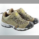 【JHS杰恆社戶外鞋登山鞋】9C卡其牛皮徒步鞋旅遊鞋跑步鞋情侶鞋(FW天翔FLYWALKING)