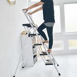 《Peachy life》時尚五層可折疊A字梯/樓梯椅/家用梯