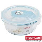 韓國Neoflam-玻璃保鮮盒-圓形0.95L