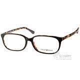 EMPORIO ARMANI 眼鏡 人氣百搭潮流款(黑-琥珀) #EA3049D 5269