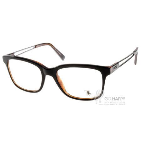 TOD'S眼鏡 潮流簡約款(黑-琥珀) #TOD5050 005 -friDay購物