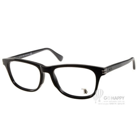 TOD'S眼鏡 簡約沉穩款(黑) #TOD5104 001 -friDay購物