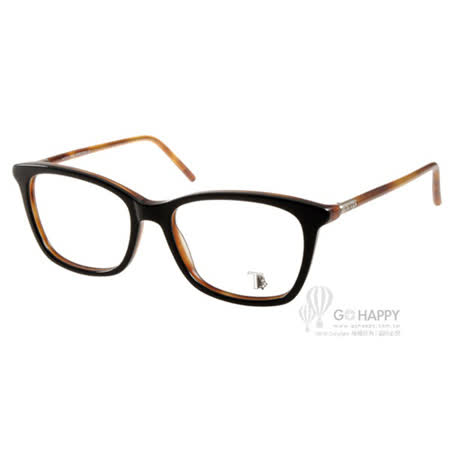 TOD'S眼鏡 經典潮流款(黑-棕) #TOD5110 005 -friDay購物