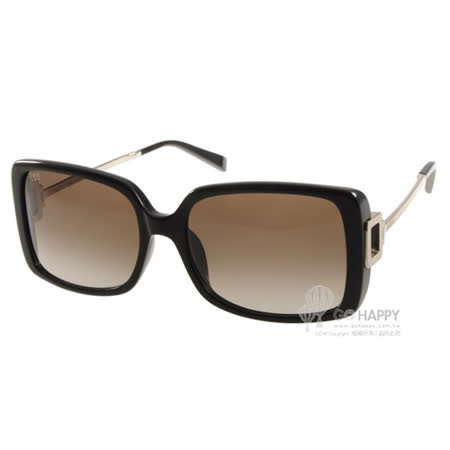 TOD'S太陽眼鏡 氣質方框款(黑) #TOD9114 01F -friDay購物