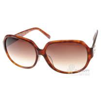 agnes b.太陽眼鏡 經典設計款(琥珀棕紅) #AB2814 DW