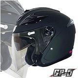 【GP-5 222B 雙鏡片內墨片 3/4 罩安全帽】夏天通風必備|高級牛皮厚襯|附原廠帽套|品質保證