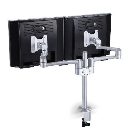 順雷 SPEEDCOM LA-820 機械式桌上型雙螢幕壁掛架 適用15吋-24吋