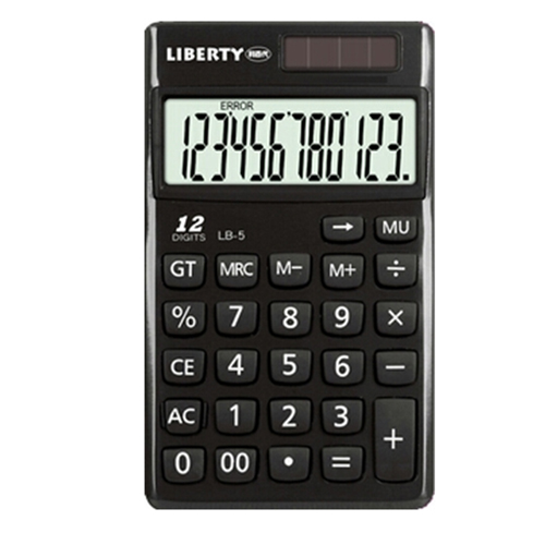 【LIBERTY】便利隨攜-掌中型12位數計算機