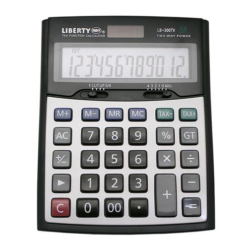 【LIBERTY】正規職人-桌上型12位數計算機