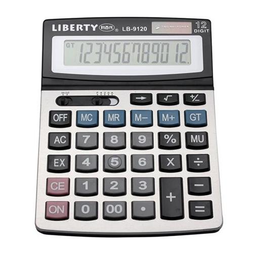 【LIBERTY】效率職人-桌上型12位數計算機