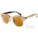 RayBan太陽眼鏡 木頭框系列 Clubmaster款(楓木-棕) #RB3016M 1179-49mm