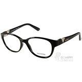 VALENTINO眼鏡 簡約LOGO款(黑) #VA2651 C001