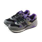(男)NEW BALANCE 復古鞋 灰/黑/紫-MRT580GA