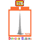 LOZ 鑽石積木 9370 迪拜塔 建築系列 腦力激盪 益智玩具