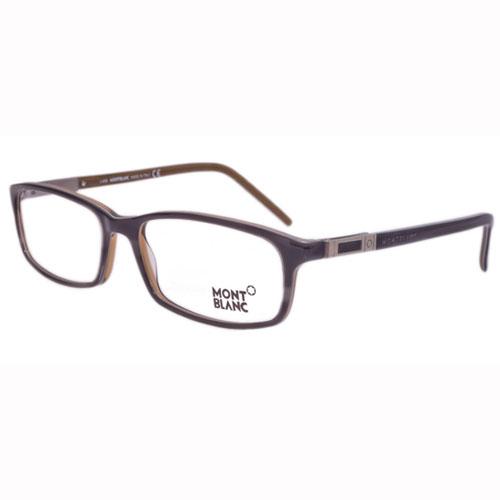 萬寶龍 MONTBLANC-時尚光學眼鏡(灰色)MB297