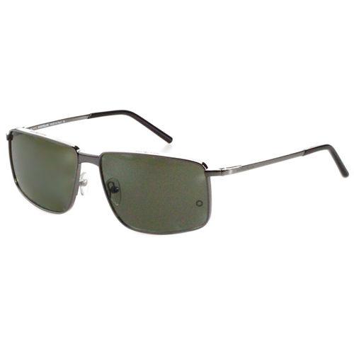 萬寶龍 MONTBLANC-時尚太陽眼鏡 (銀色/金色)MB319S