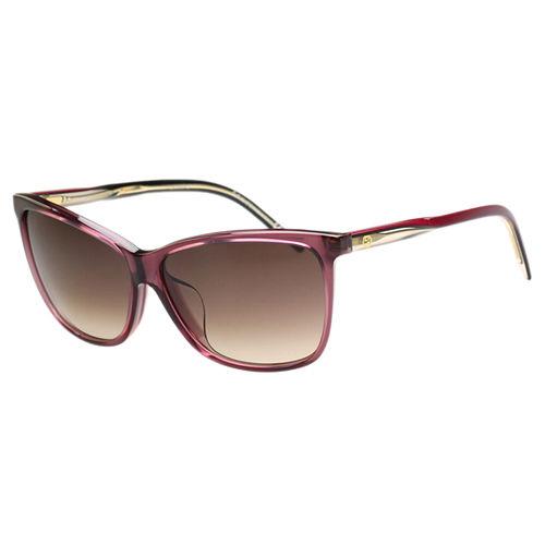 GUCCI-時尚太陽眼鏡(茶色/粉色)