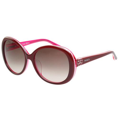 MAX&CO. 時尚太陽眼鏡(紅色)