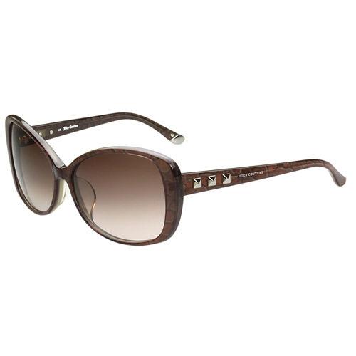 Juicy Couture 個性爆裂紋 太陽眼鏡(咖啡色)