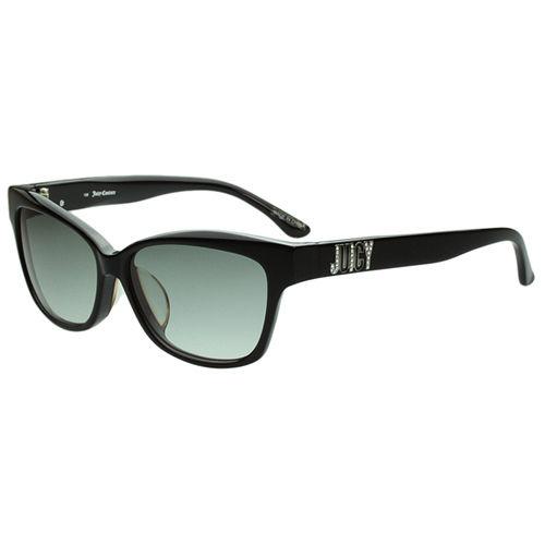 Juicy Couture 時尚太陽眼鏡(黑色)