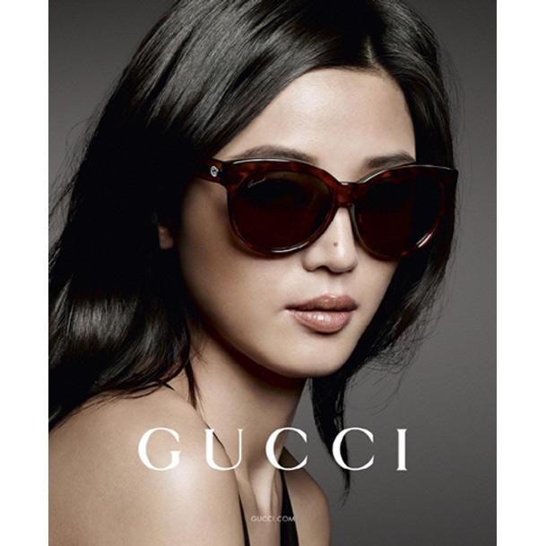 GUCCI- 全智賢廣告款 太陽眼鏡 (琥珀色)