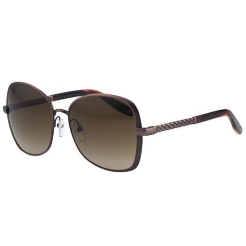 BOTTEGA VENETA太陽眼鏡 (咖啡色)BV258FS