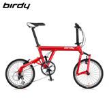 Birdy New Classic Birdy圓管 8速折疊車 勃根地紅