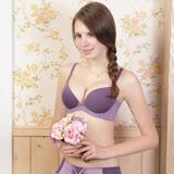 【瑪登瑪朵】15AW-我挺妳素面內衣  B-E罩杯(迷戀紫)