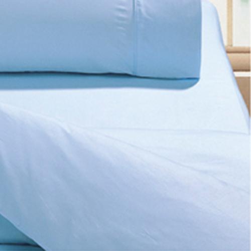 【鴻宇HongYew】美國棉花 日式元素 海洋水藍-雙人床包組