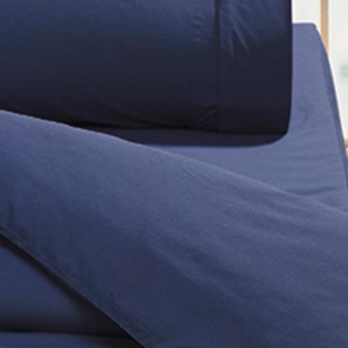 【鴻宇HongYew】美國棉花/日式元素/摩登深藍-雙人床包組