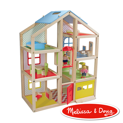 美國瑪莉莎 Melissa & Doug 高樓娃娃屋