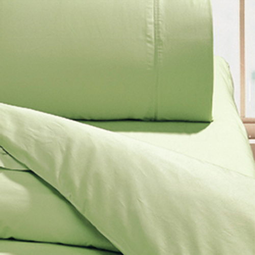 【鴻宇HongYew】美國棉花/日式元素/蘋果淺綠-雙人床包組