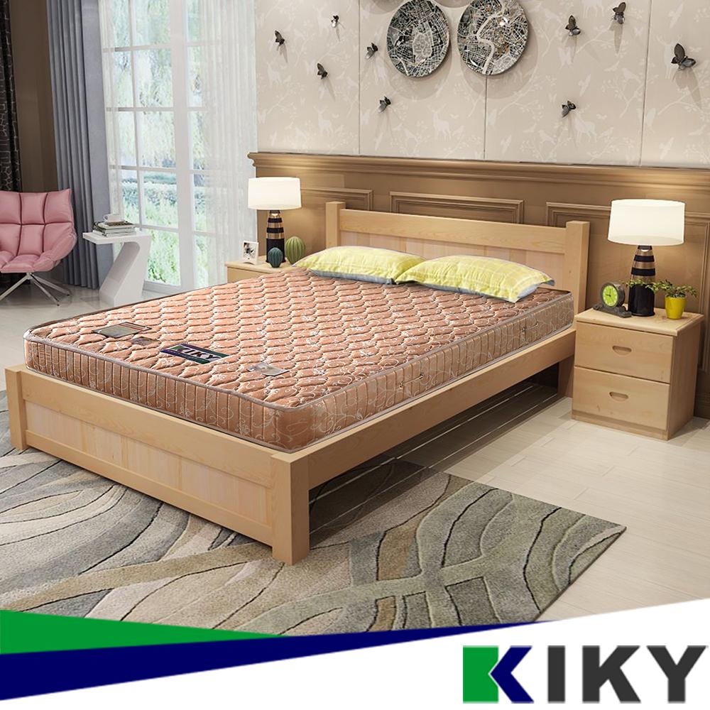 【KIKY】一代德式旗艦二線護背彈簧單人床墊3尺