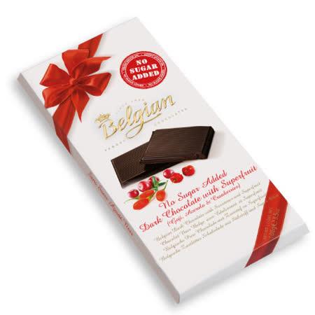 Belgian 白儷人 無糖梅果巧克力