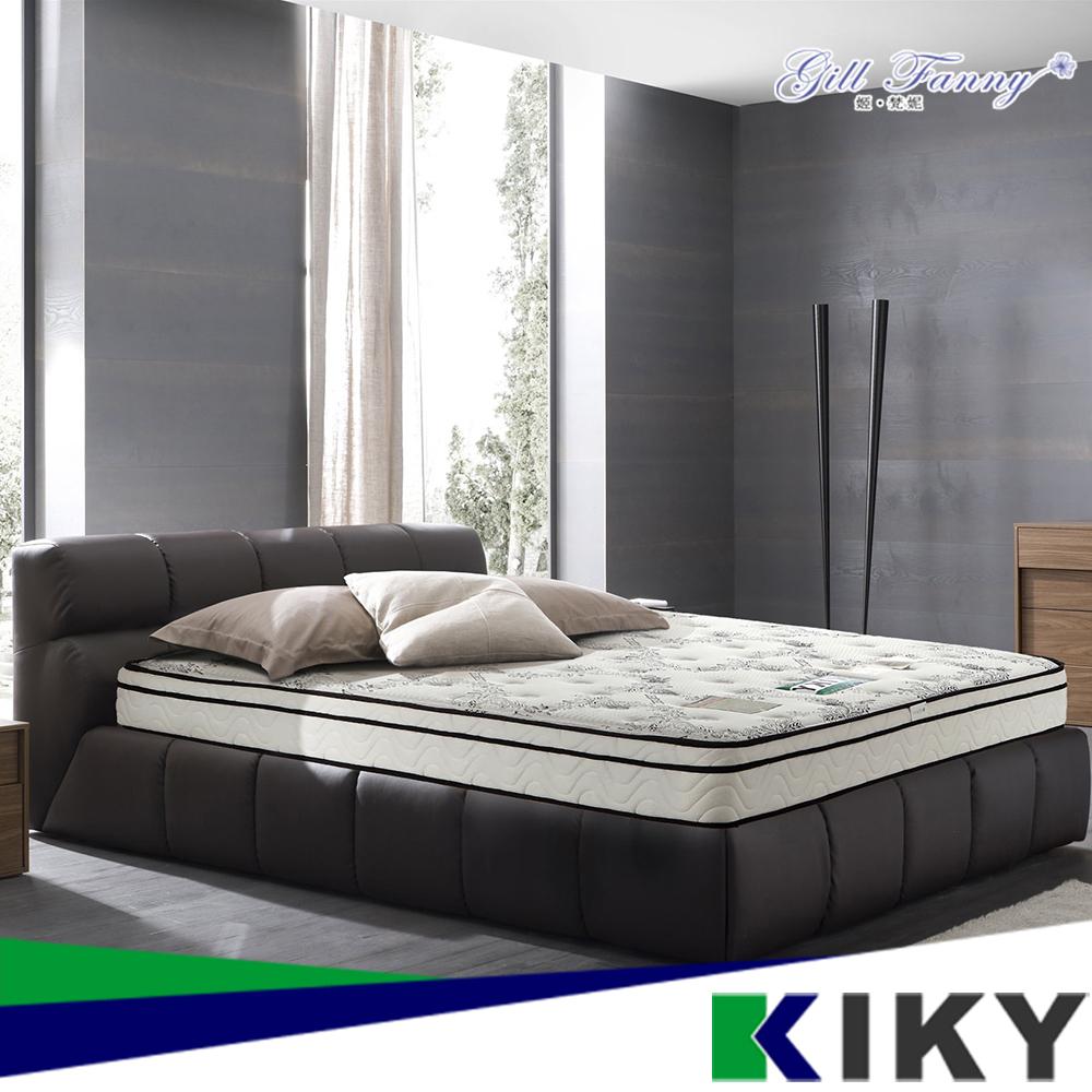 【KIKY】姬梵妮-珍愛來臨天絲三線獨立筒床墊3尺