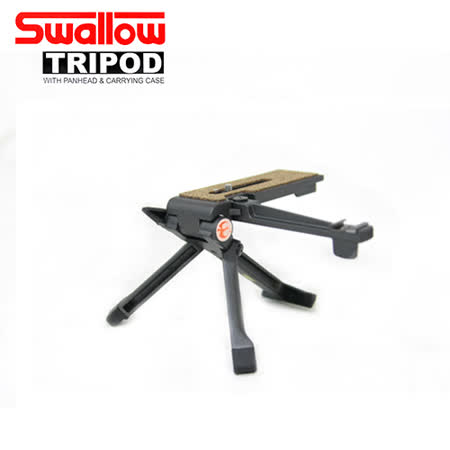 Swallow TP-M1 鋁合金 桌上型腳架(公司貨)-附閃燈支撐架