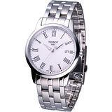 TISSOT CLASSIC DREAM 尊爵超薄時尚腕錶 T0334101101301