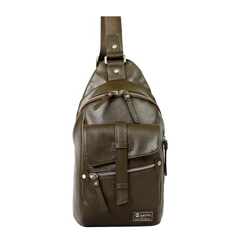 【estilo】印地安II系列 豪放氣勢 直式側背包(綠)