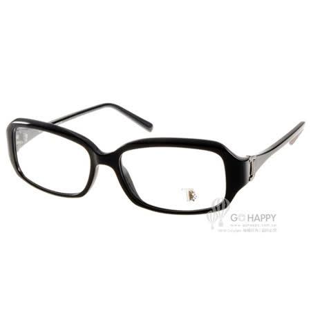 TOD'S眼鏡 時尚復古小方框款(黑) #TOD5031 001 -friDay購物