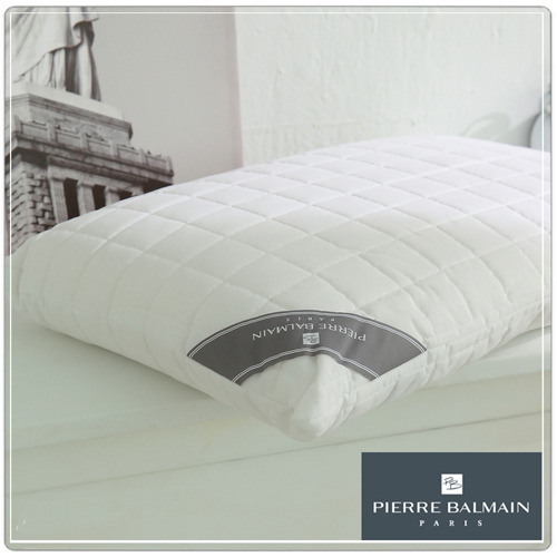 【PB皮爾帕門】特殊防潑水天然乳膠枕-平面型