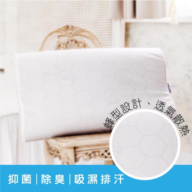 【鴻宇HongYew】典雅竹炭記憶枕