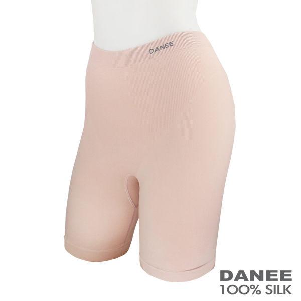 【岱妮蠶絲】GC6026Z蠶絲美體塑身三分褲(膚色)