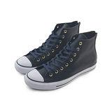 (U系列)CONVERSE Chuck Taylor All Star Dual Zip 帆布鞋 黑/靛藍-150708C