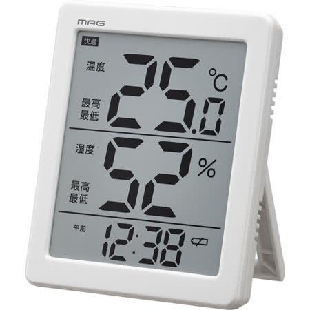 日本MAG 超大液晶溫濕度計