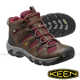~美國 Keen~女 KOVEN MID WP 中筒防水透氣登山健行鞋 寬楦護趾 郊山鞋.