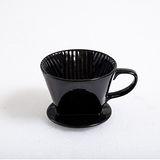 HERO 陶瓷咖啡濾杯 2-4人份 -經典黑